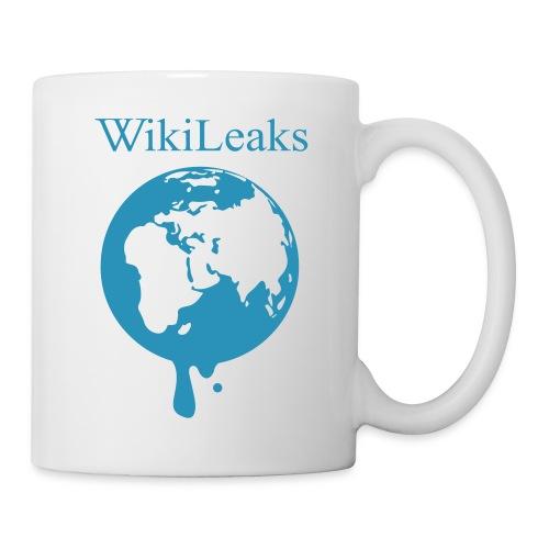 WikiLeaks Globe Mug - Coffee/Tea Mug