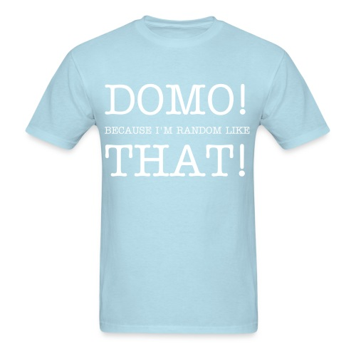 Domo! Men's Standards Weight T-Shirt - Men's T-Shirt