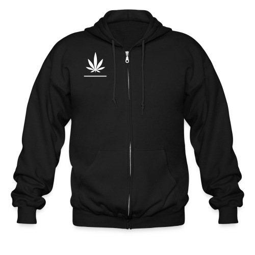 Pot Head - Men's Zip Hoodie