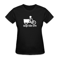 Women's T-Shirts ~ Women's T-Shirt ~ Madsen Cargo Bike Love