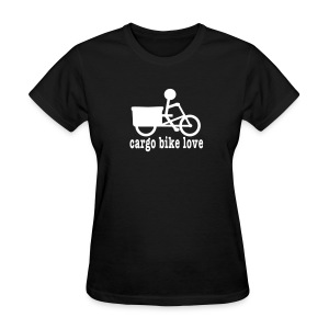 Madsen Cargo Bike Love - Women's T-Shirt
