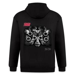 Saga 20/20 CD cover zipper hoodie! - Men's Zip Hoodie