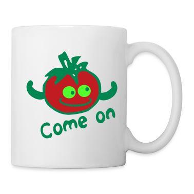 Come on Red tomato funny Coffee/Tea Mug