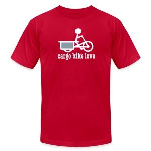Longtail Cargo Bike Love - Men's Fine Jersey T-Shirt