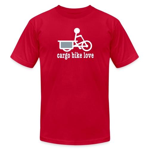 Longtail Cargo Bike Love - Men's Jersey T-Shirt