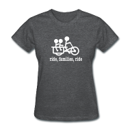 Women's T-Shirts ~ Women's T-Shirt ~ Women's Longtail Ride Families