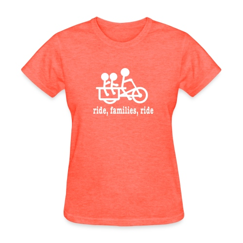 Women's Longtail Ride Families - Women's T-Shirt