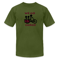 T-Shirts ~ Men's T-Shirt by American Apparel ~ We Go Cargo