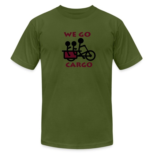We Go Cargo - Men's T-Shirt by American Apparel