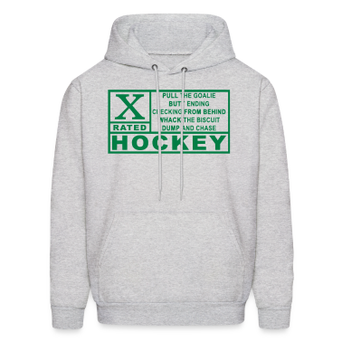 X Rated Hockey Hoodies