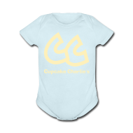 Baby Bodysuits ~ Baby Short Sleeve One Piece ~ CC Cupcake Charlie's Baby