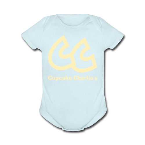 CC Cupcake Charlie's Baby   - Short Sleeve Baby Bodysuit