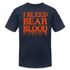 I Bleed Bear Blood - Men's T-Shirt by American Apparel
