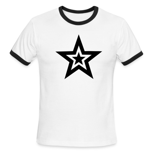 Double Star - Men's Ringer T-Shirt