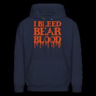 Hoodies ~ Men's Hoodie ~ I Bleed Bear Blood