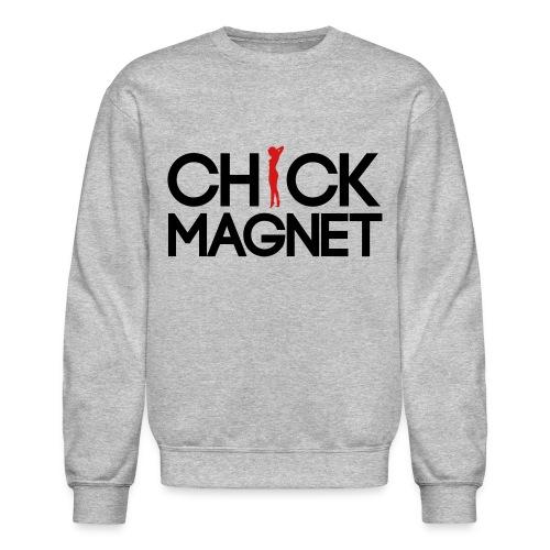 Chick Magnet Long Sleeve Shirts - Crewneck Sweatshirt
