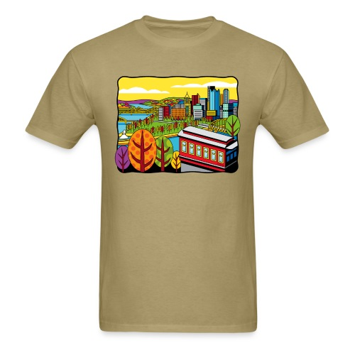 Duquesne Incline Pittsburgh - Men's T-Shirt