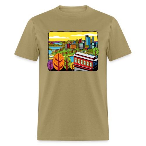 Duquesne Incline Pittsburgh - Men's T-Shirt