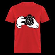 T-Shirts ~ Men's T-Shirt ~ Taylor Camera Tee