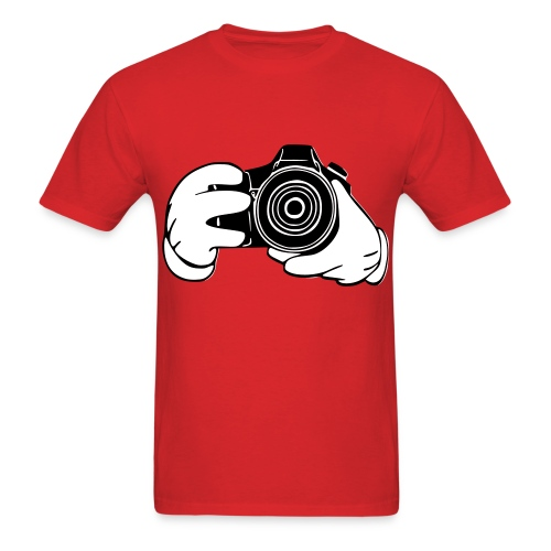Taylor Camera Tee - Men's T-Shirt