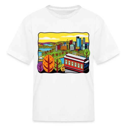 Duquesne Incline Pittsburgh - Kids' T-Shirt