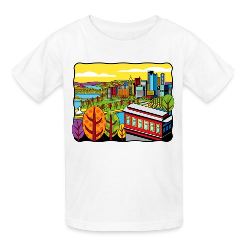 Duquesne Incline Pittsburgh - Kids' T-Shirt