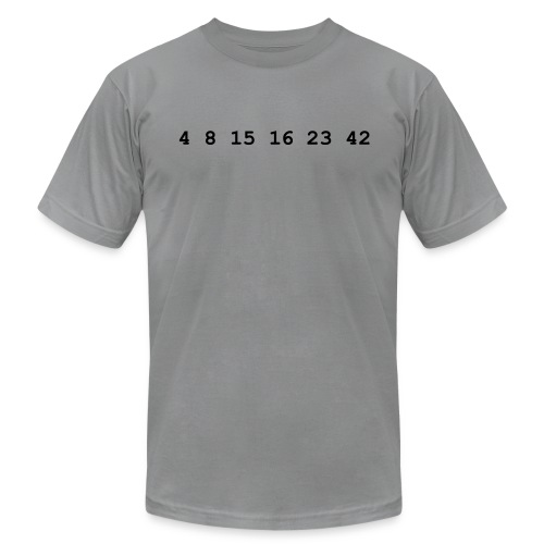 ABC's Lost - Hugo's Numbers  - Men's  Jersey T-Shirt