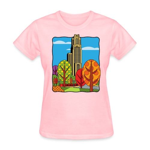 Cathedral of Learning University of Pittsburgh - Women's T-Shirt