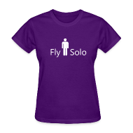 T-Shirts ~ Women's T-Shirt ~ Female Fly Solo Tee