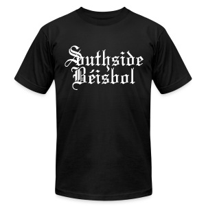 Southside Beisbol - Men's T-Shirt by American Apparel
