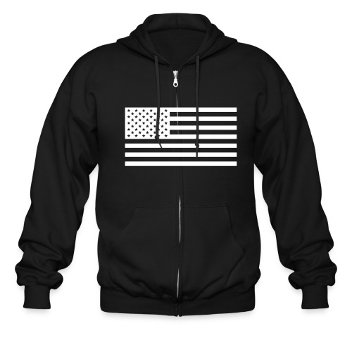 White Flag - Men's Zip Hoodie