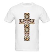 T-Shirts ~ Men's T-Shirt ~ CAT CROSS - MENS TSHIRT
