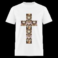 T-Shirts ~ Men's T-Shirt ~ CAT CROSS - MENS TSHIRT