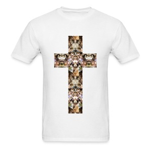 CAT CROSS - MENS TSHIRT - Men's T-Shirt