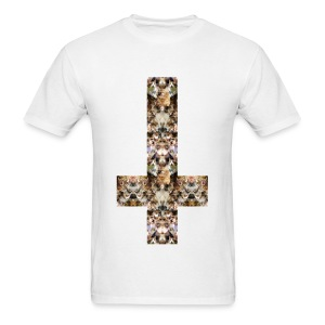 INVERTED CAT CROSS - MENS TSHIRT - Men's T-Shirt
