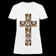 Women's T-Shirts ~ Women's T-Shirt ~ CAT CROSS - LADIES TSHIRT