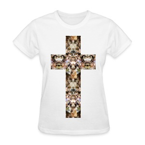 CAT CROSS - LADIES TSHIRT - Women's T-Shirt