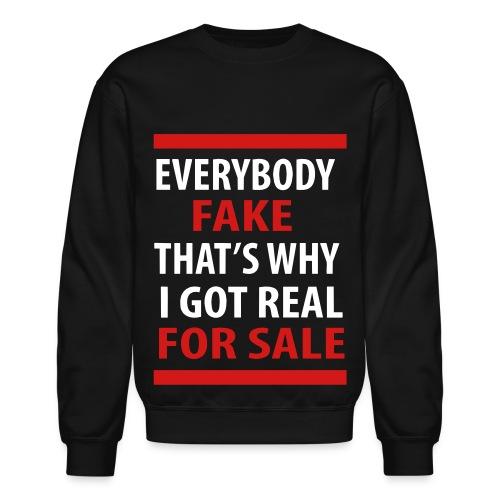 Real for Sale - Crewneck Sweatshirt