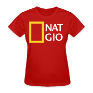 T-Shirts ~ Women's T-Shirt ~ National Giovani - W/Number on back