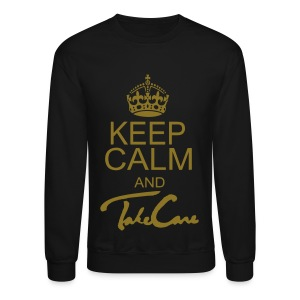 Keep Calm Take Care - Crewneck Sweatshirt