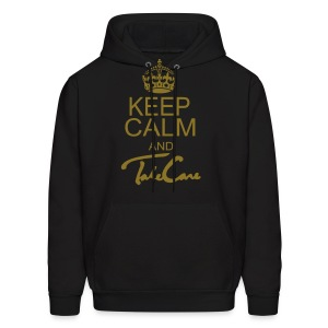 Keep Calm Take Care - Men's Hoodie