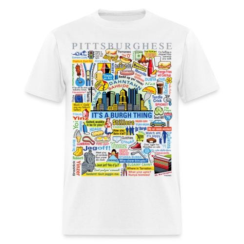 Pittsburghese - Men's T-Shirt
