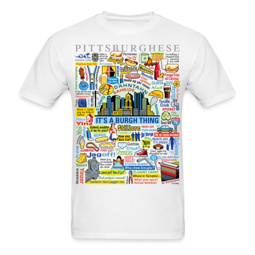 Pittsburghese - Men's T-Shirt