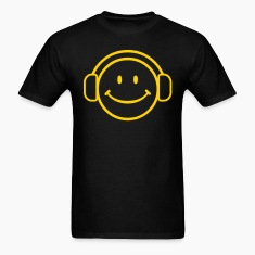 DJ Happy Face - VECTOR T-Shirts