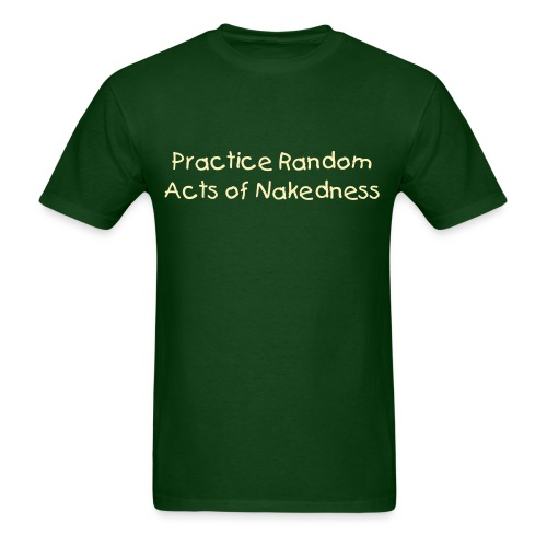 Random Acts of Nakedness - Men's T-Shirt