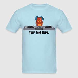 DJ Bear T-Shirts - Men's T-Shirt