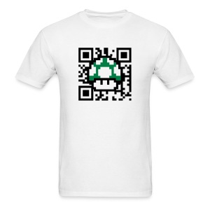 Scan for a 1up! - Men's T-Shirt