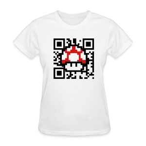 Scan for a Power-up! - Women's T-Shirt