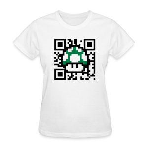 Scan for a 1up! - Women's T-Shirt