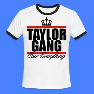 Taylor Gang Over Everything T-Shirts - stayflyclothing.com - Men's Ringer T-Shirt